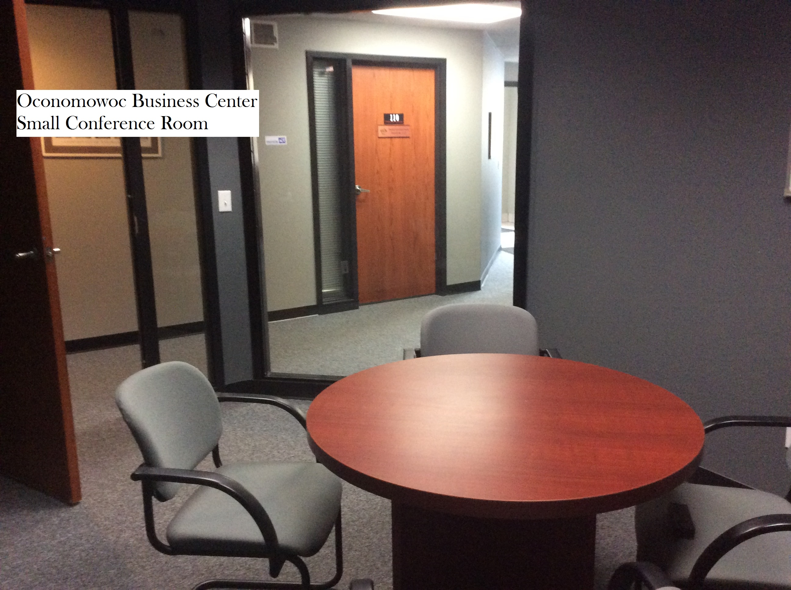 13 Small conference room labelled